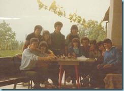 1983 β΄ πρωτομαγιά στην καλύβα του Νίκου Μπλιάτκα