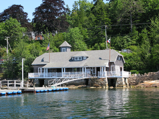 Martha's local yacht club.