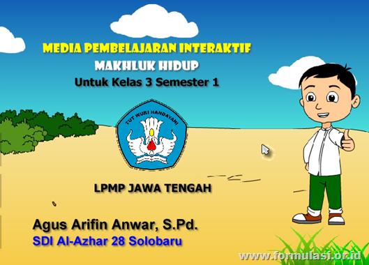 Mpi Makhluk Hidup Juara Ii Lpmp Jawa Tengah 2012 Kelas 3