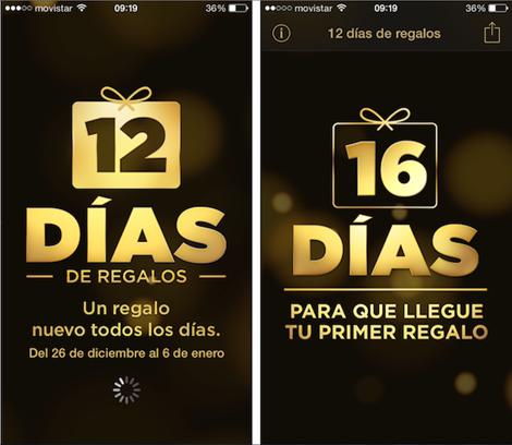 12 días de regalos para iOS