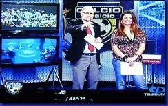 Michele Angella ed Alessandra Giavarini - Calcio & Calcio 23 01 2012