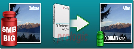 FILEminimizer Pictures - prologic