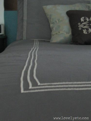 gray dyed duvet