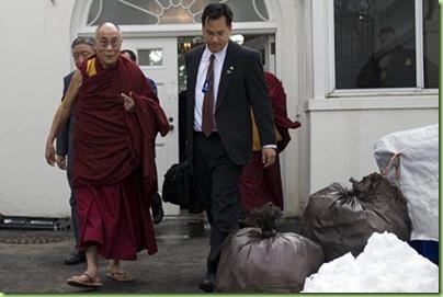 Dalai Lama-US-White House