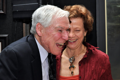 Jacques d'Amboise with Martine