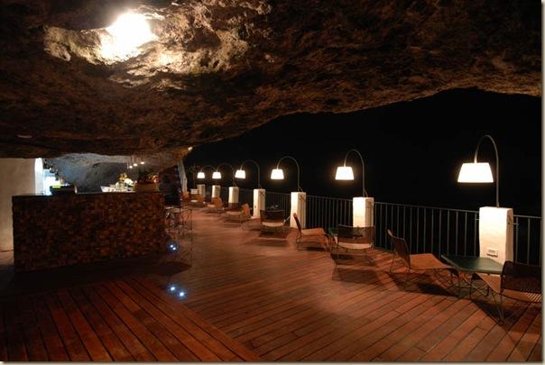 Restaurant de l'hôtel Grotta Palazzese (12)