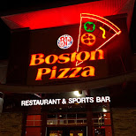 boston pizza after party in Milton, Ontario, Canada