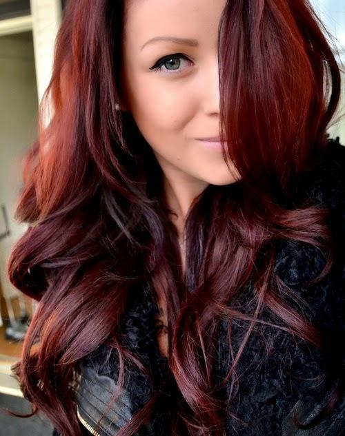 Красный оттенок волос в домашних условиях