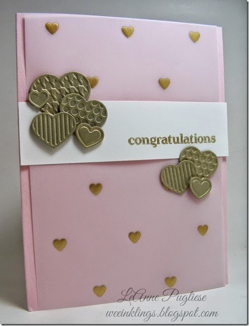 LeAnne Pugliese WeeInklings Wedding Card