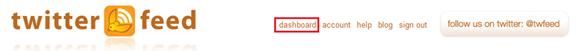 Clique em dashboard