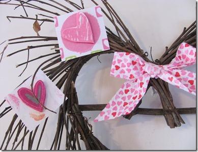 Twiggy heart wreath