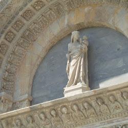 Detalle de una puerta del Baptisterio