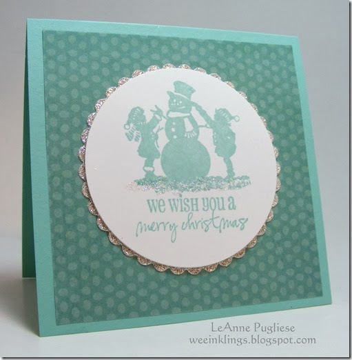 LeAnne Pugliese WeeInklings Merry Monday Christmas Stampin Close to my Heart