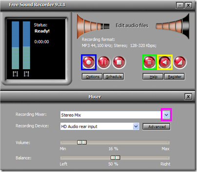 Free Sound Recorder Mixer