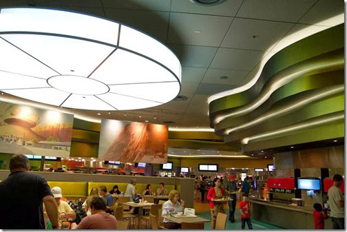 Art of Animation Food Court