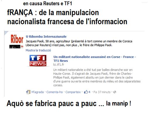 manipulacion nacionalista francesa de l'informacion