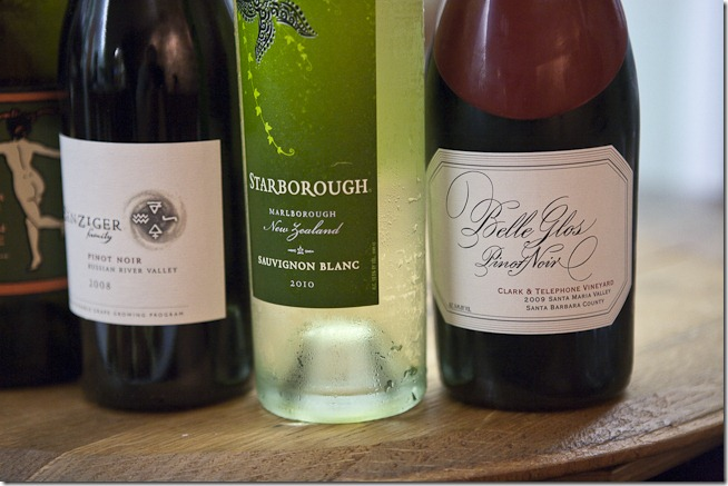 Starborough Sauvignon Blanc and Belle Glos Pinot Noir