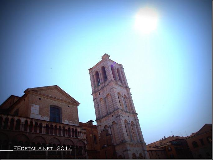 Campanile della Cattedrale di Ferrara, Emilia Romagna, Italy