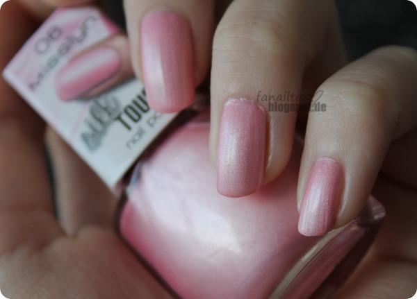 "Misslyn ""prima ballerina"" LE silky nail polish ""ballet"""