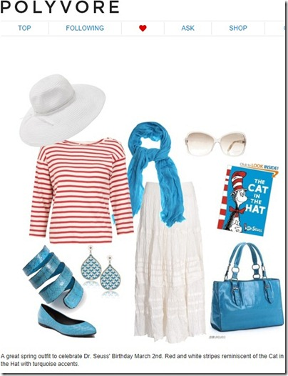 Polyvore Seuss Outfit
