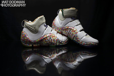 nike zoom lebron 4 pe fruity pebbles 2 22 #TBT: Nike Zoom LeBron IV Fruity Pebbles Ultimate Gallery