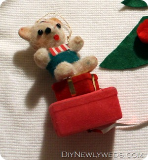 old christmas ornament sweater