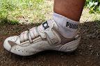 Te buty były kiedyś białe jak te skarpetki