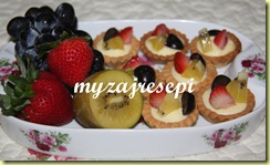 Fruits cheese tart 001