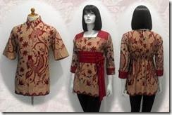 blus batik terbaru
