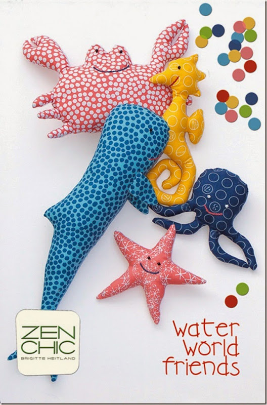 Cover Water World fabrid to for kids Zen Chic