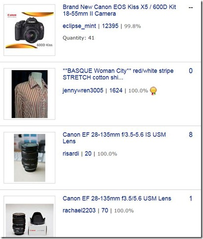 sharons ebay watch list