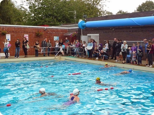 Swim - outdoor brine pool at Nantwich Swimming Pool (2)