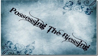 Possessing the blessing-large