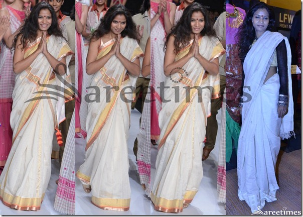 Vaishali_S_White_Saree