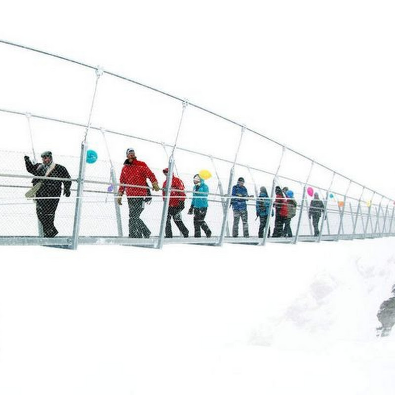 Titlis Cliff Walk: Europe's Highest Suspension Bridge Opens