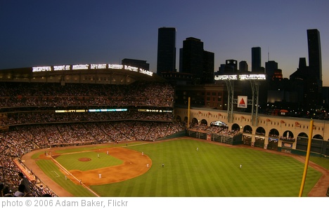 'Dusk at Minute Maid Park' photo (c) 2006, Adam Baker - license: http://creativecommons.org/licenses/by/2.0/