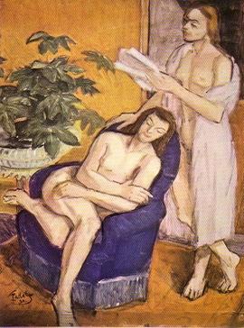 Theodor Pallady - Lectura