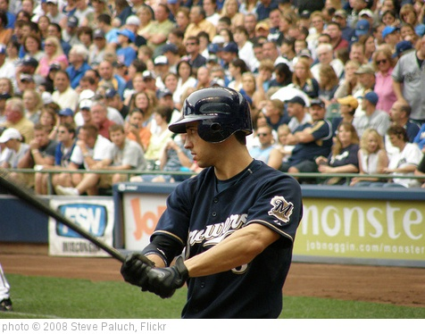 'Ryan Braun' photo (c) 2008, Steve Paluch - license: http://creativecommons.org/licenses/by/2.0/