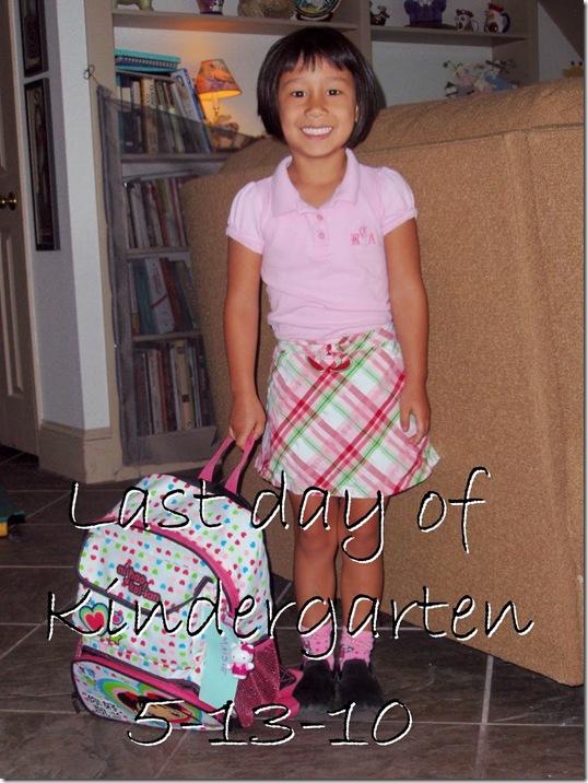 last day kindergarten