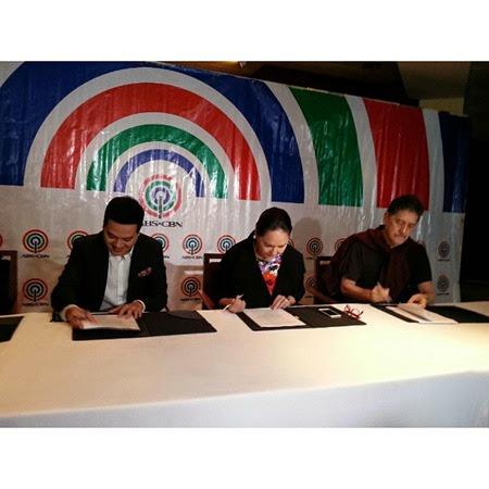John Lloyd Cruz, Charo Santos-Concio, Johnny Manahan