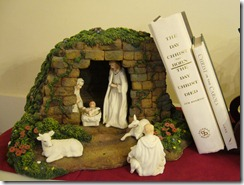 nativity and books
