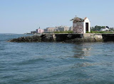 Gulls Rocks today - all that remains of the original structures is the tiny oil house - photo from fizber.com