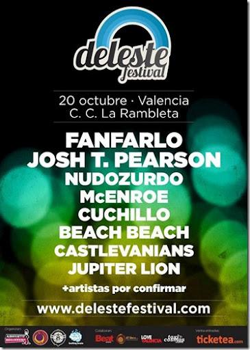 Deleste festival, un nuevo evento en Valencia