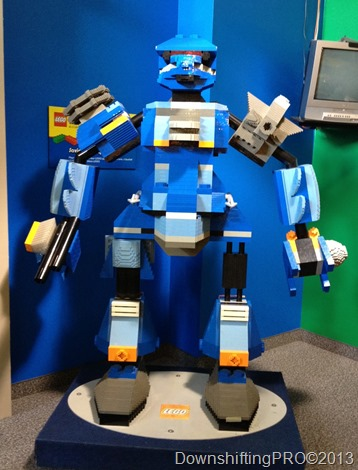 LEGO_Robot_DownshiftingPRO_WordlessWednesday