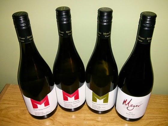 Meyer Wine Club October 2014 shipment
