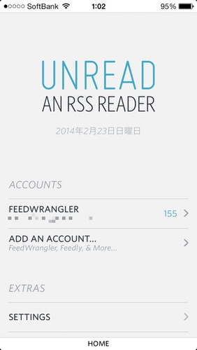 Rss reader ios unread feedwrangler