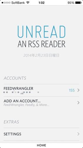 Rss reader ios unread feedwrangler