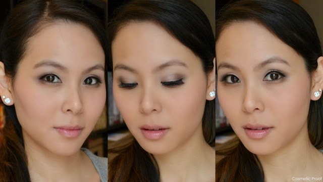 Essence How to Make Nude Eyes Palette Makeup Look