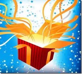Opened gift