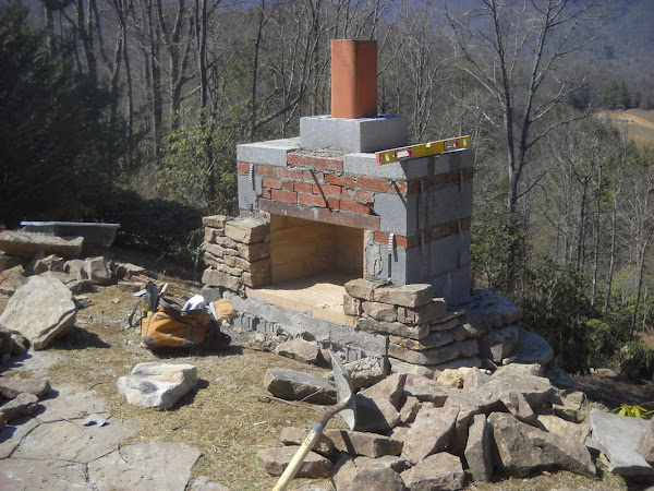 How To Build An Outdoor Fireplace | Casual Cottage